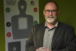 Instructor Gary Dredge
